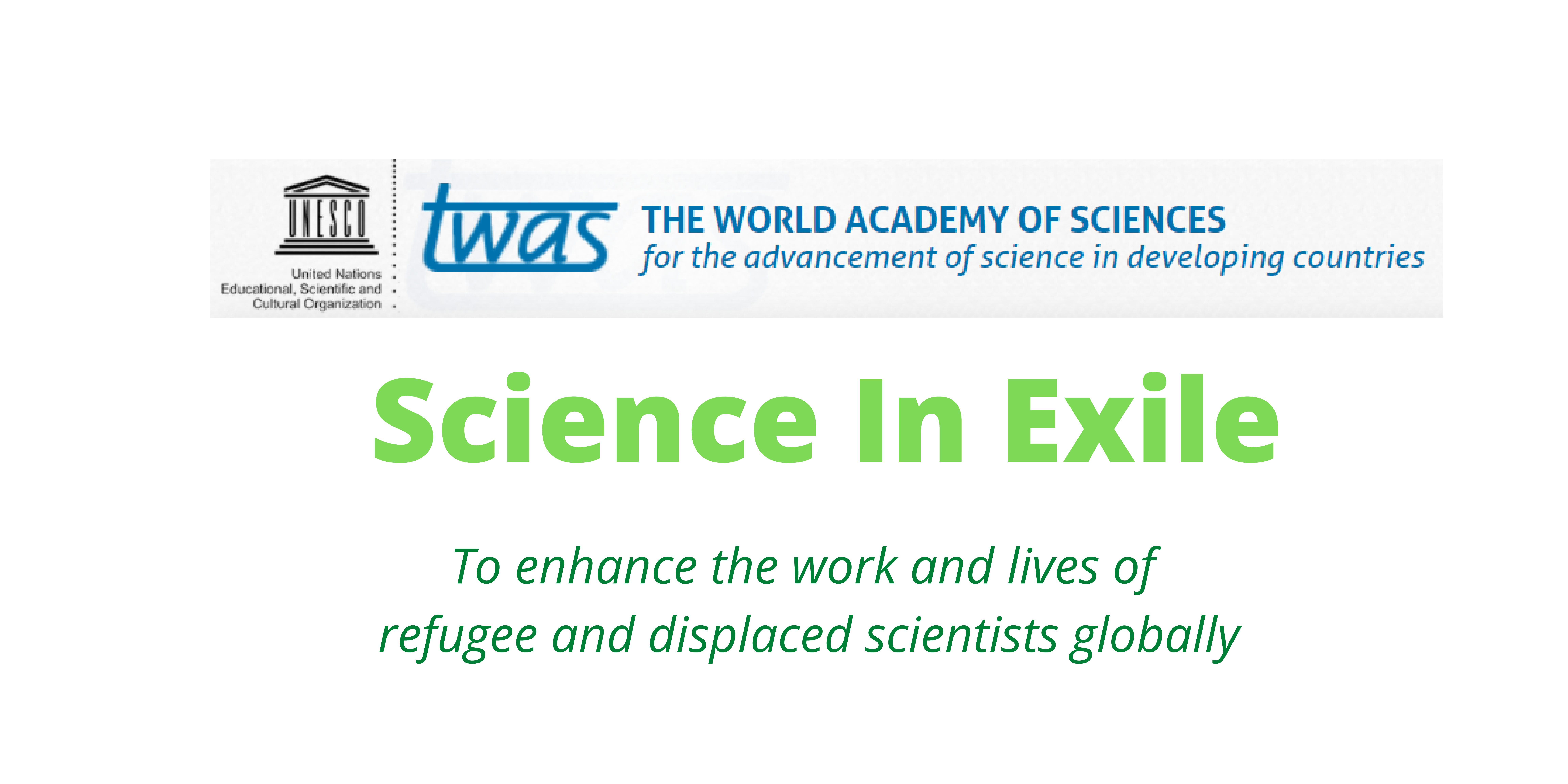 Science in Exile – Activity update May 2021