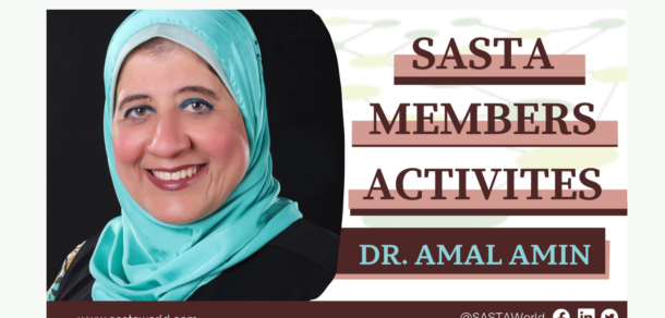 Dr Amal Amin co-authored a review paper and appeared in the first episode of Nature Arabic's